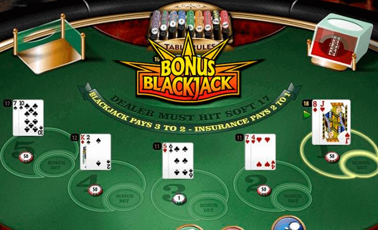 blackjack bonus for new players