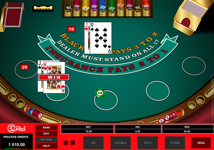 playing no blackjack without downloading it