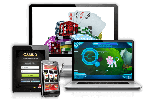 casino software on different devices