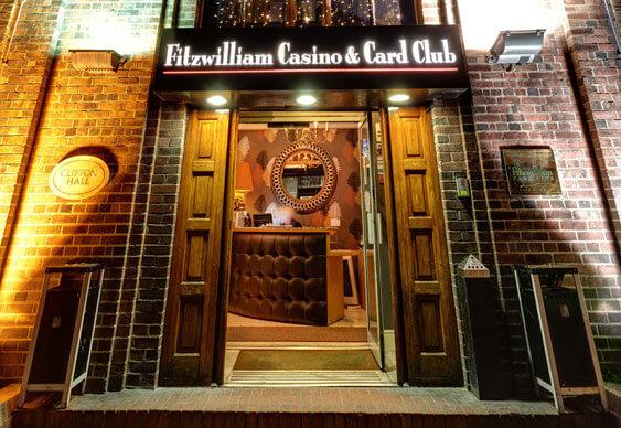 Fitzwilliam Casino entrance