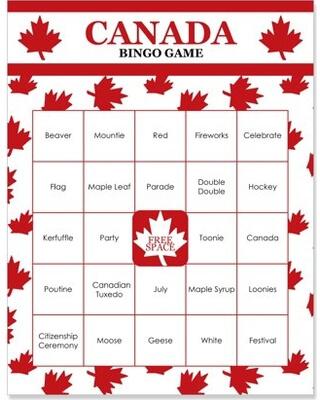 bingo ticket